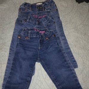 Lot of jeans 18-24 months